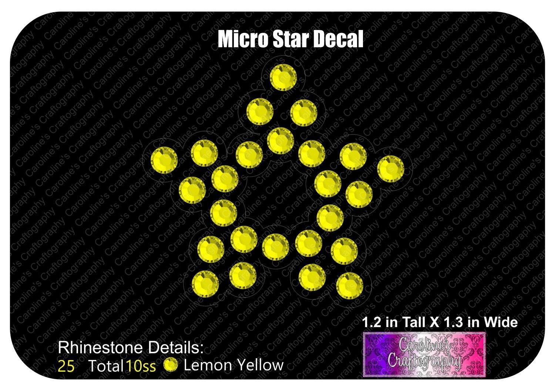 Micro Star Decal