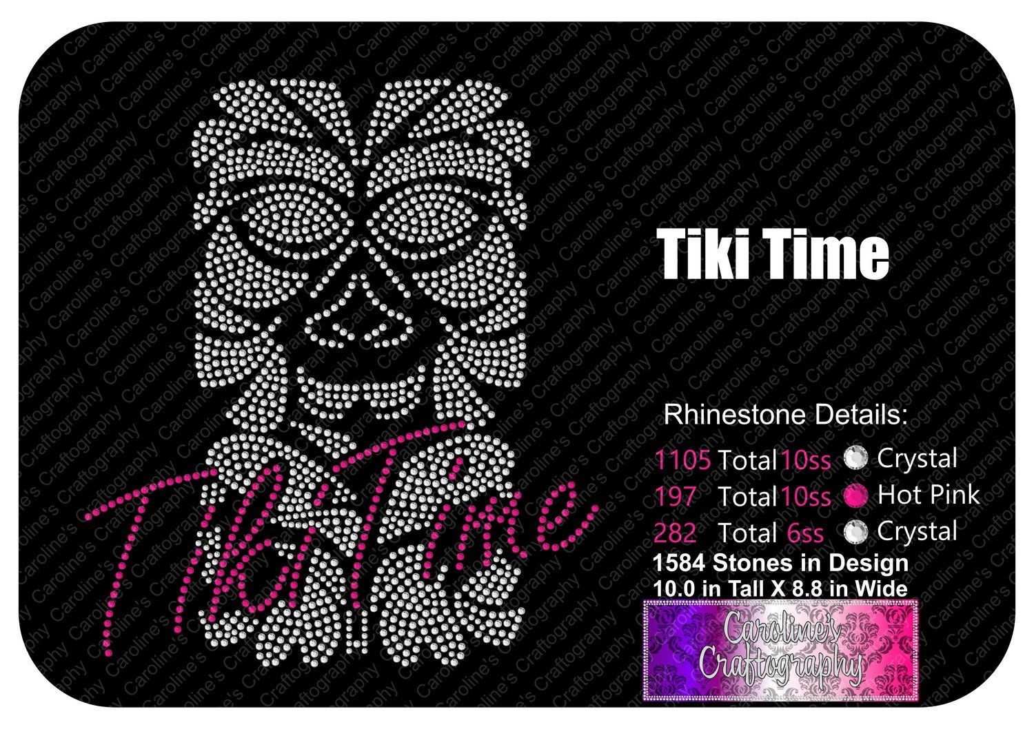 Tiki Time Stone 2 Color