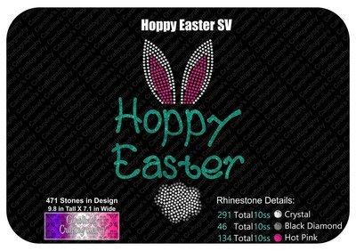 Hoppy Easter Stone Vinyl