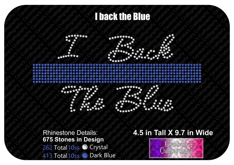 I Back the Blue Stone