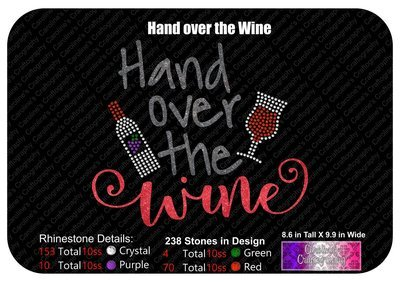 Hand over the Wine Stone Vinyl