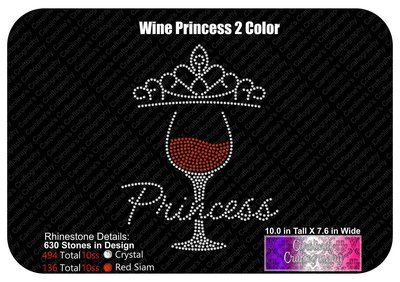 Wine Princess 2 Color Stone