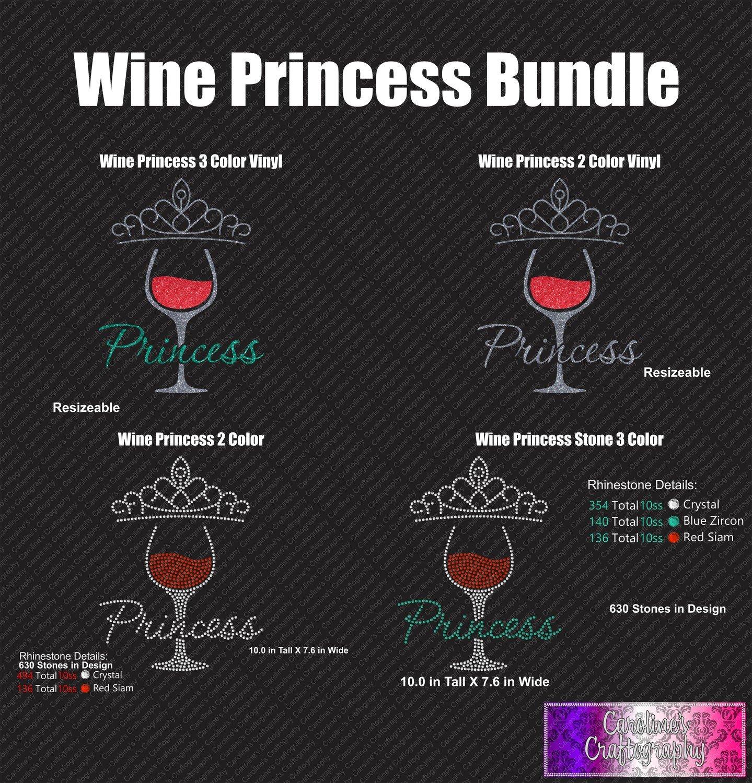 Wine Princess Bundle (Stone and Vinyl)