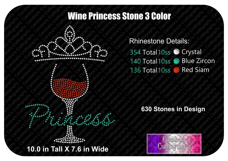 Wine Princess 3 Color Stone