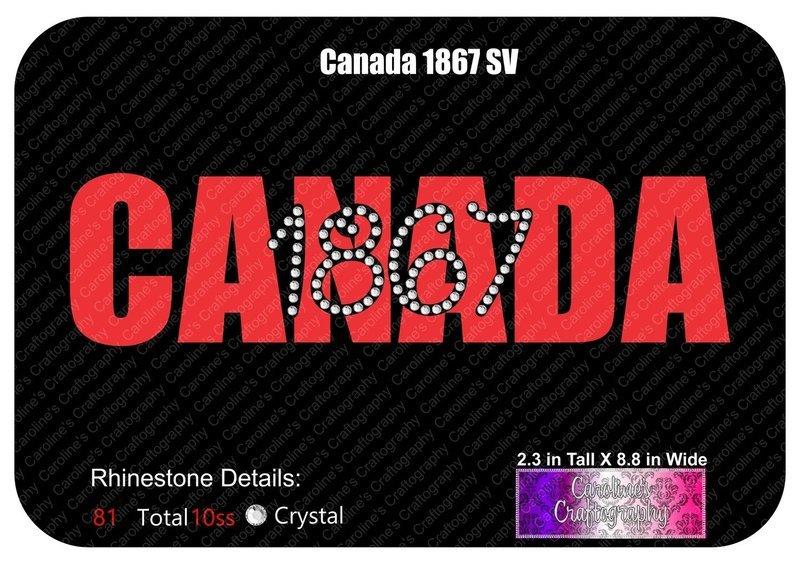 Canada 1867 Stone Vinyl