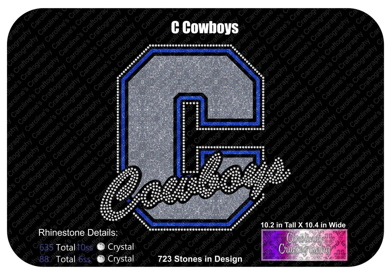 C Cowboys Stone Vinyl (SV)