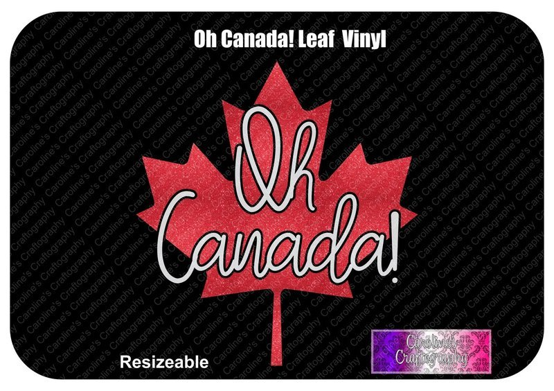 Oh Canada! Maple Leaf Vinyl