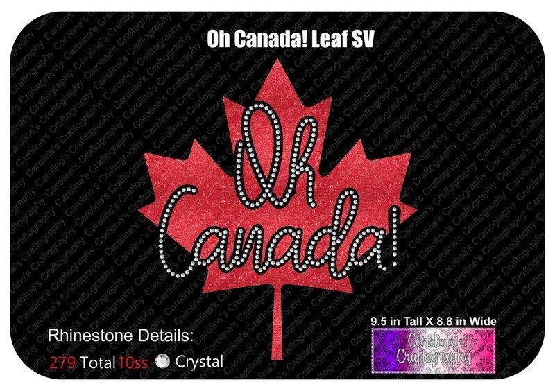 Oh Canada! Maple Leaf Stone Vinyl