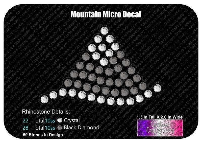 Mountain Micro Decal Stone