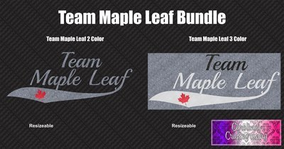 Team Maple Leaf Vinyl Bundle