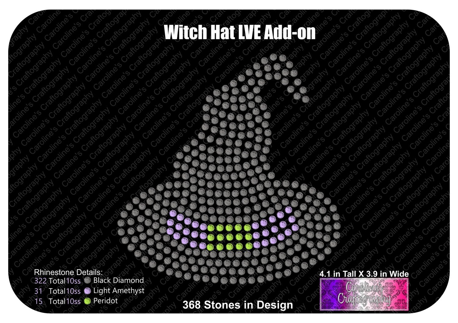 Witchy Hat LVE Add-on Stone