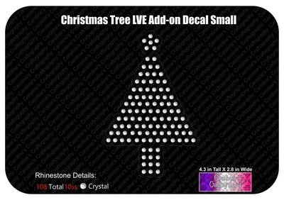 Christmas Tree LVE Add-on Decal Stone