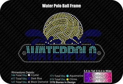 Waterpolo Ball Frame Stone