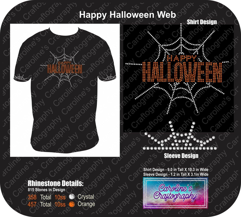 Happy Halloween Spider Web Bundle