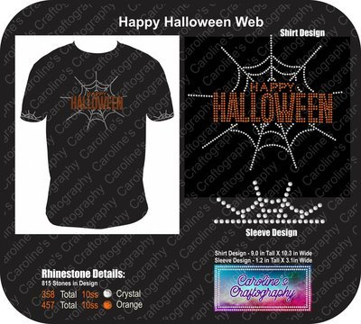 Happy Halloween Spider Web Bundle