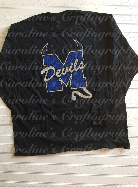 M Devils Vinyl Shirt