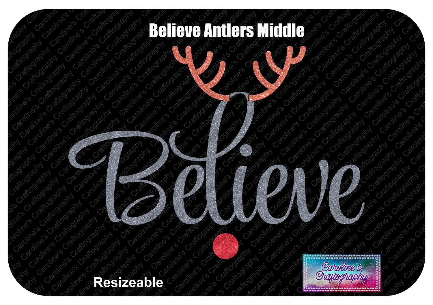 Believe Antlers Middle Red Nose Vinyl