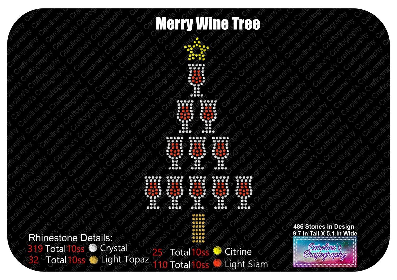 Merry Wine Tree Stone