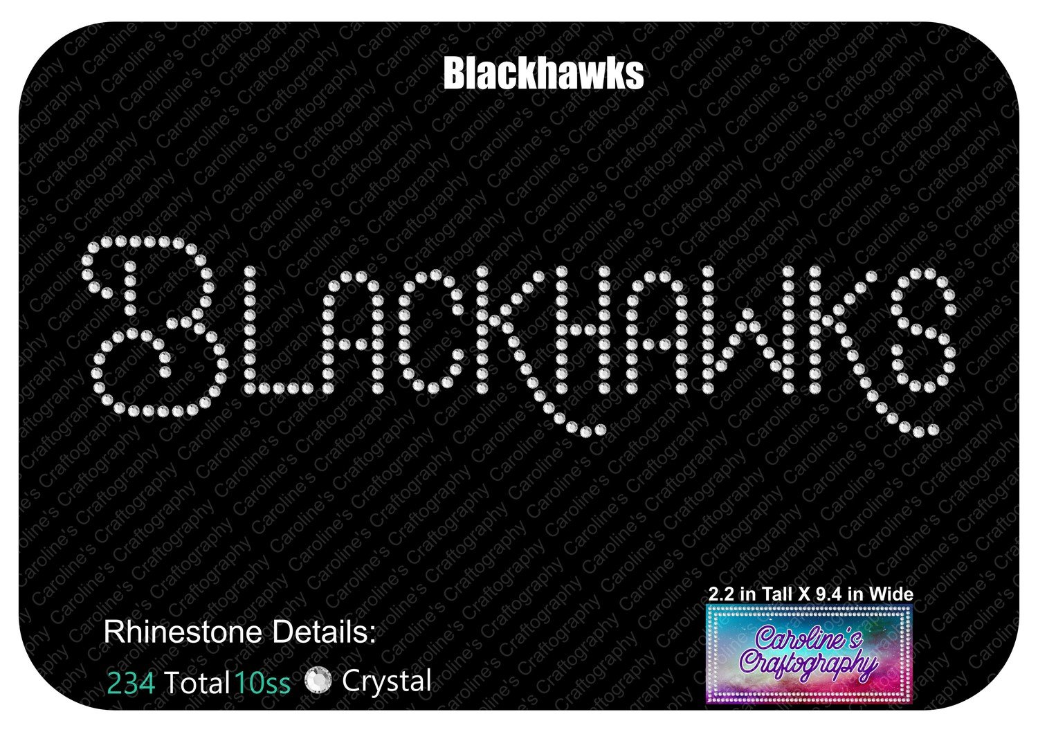Blackhawks Mascot Name Stone