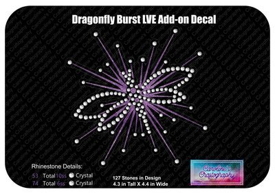 Dragonfly Burst LVE Add-on Decal SV