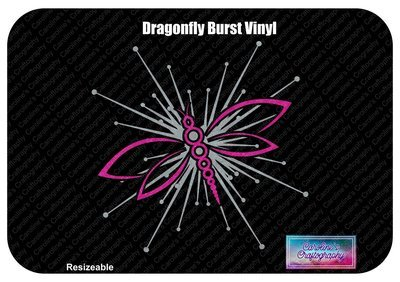 Dragonfly Burst Vinyl