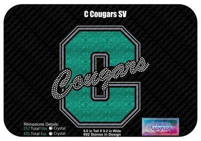 C Cougars Stone Vinyl