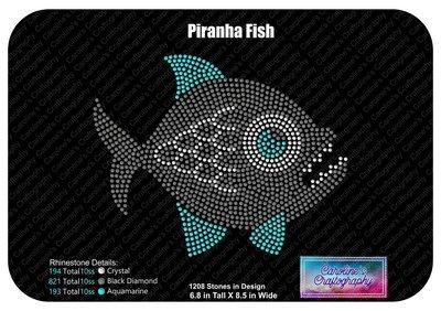 Piranha Fish Stone
