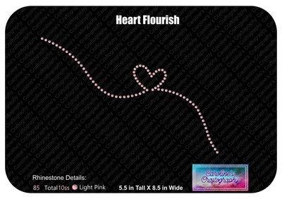 Heart Flourish Stone