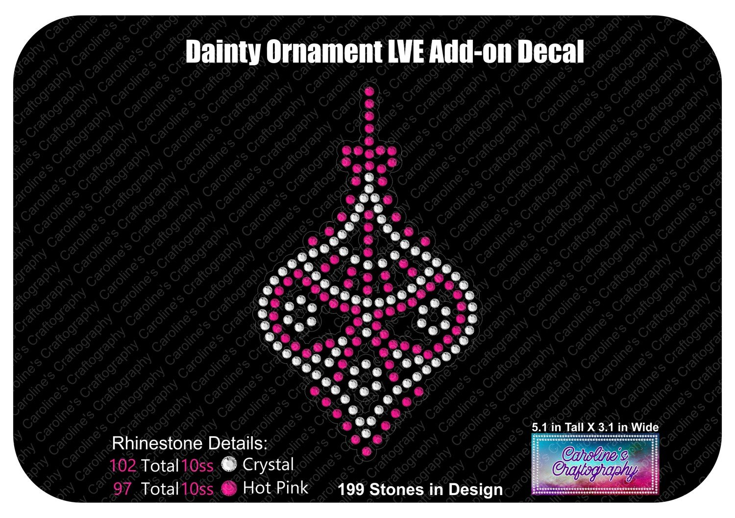 Dainty Ornament LVE Add-on Decal