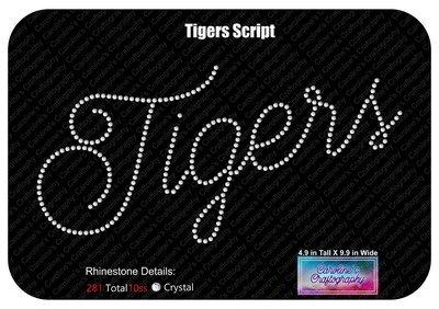 Tigers Script Stone