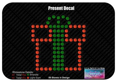 Present Gift Decal