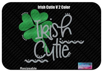 Irish Cutie Vinyl 2 Color
