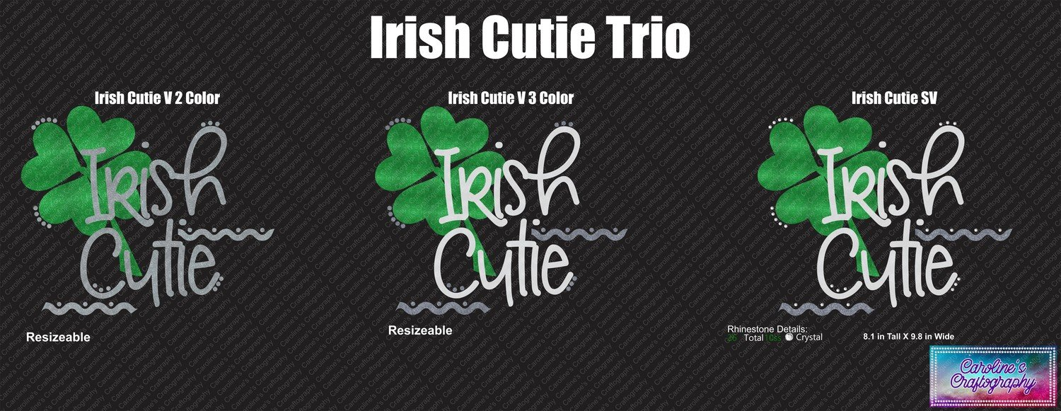 Irish Cutie Trio