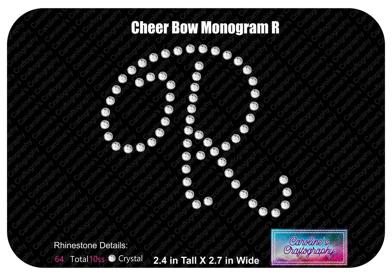 R Monogram Cheer Add-on Stone