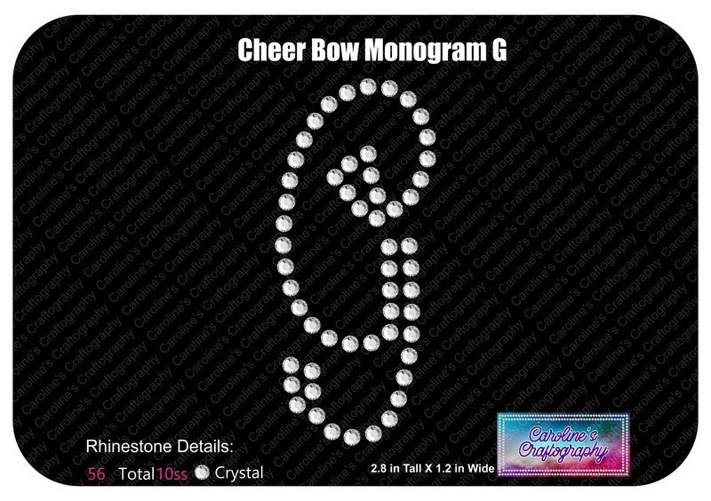 G Monogram Cheer Add-on Stone