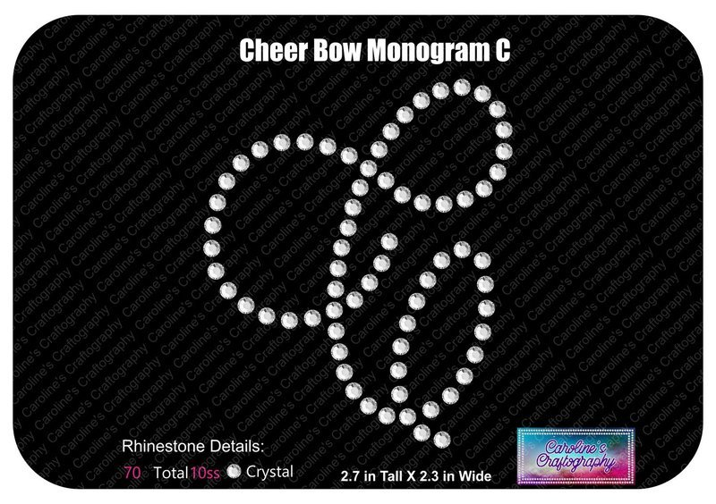C Monogram Cheer Add-on Stone