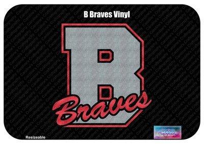 B Braves Vinyl