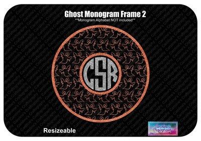 Ghost Monogram Frame 2 Vinyl