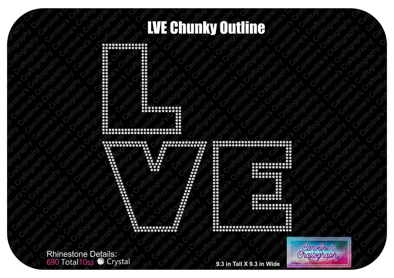 LVE Chunky Outline Stone