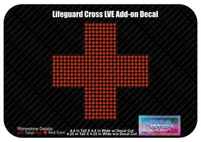 Lifeguard Cross LVE Add-on Decal