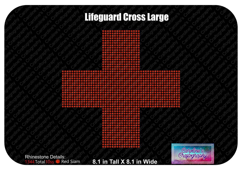 Lifeguard Cross Large