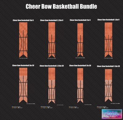 Cheer Bow Basketball Bundle