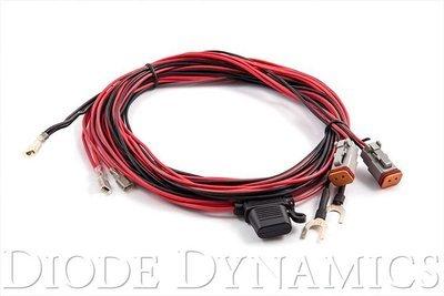 Diode Dynamics Light Duty Dual Output Light Bar Wiring Harness