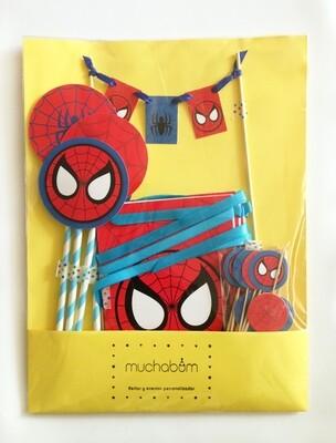 Kit-cumpleaños Spiderman