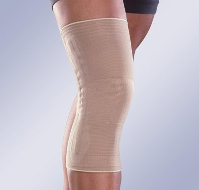 8102 Orliman Бандаж коленный эластичный с пружинными ребрами жесткости