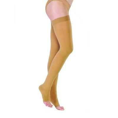 Чулки с открытым носком 1 класс компрессии