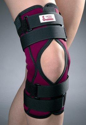 ORTEX 04A Ортез коленного сустава с простым шарниром