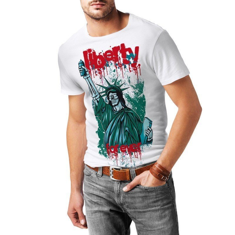 "T-shirt ""Liberty Forever"" - L"