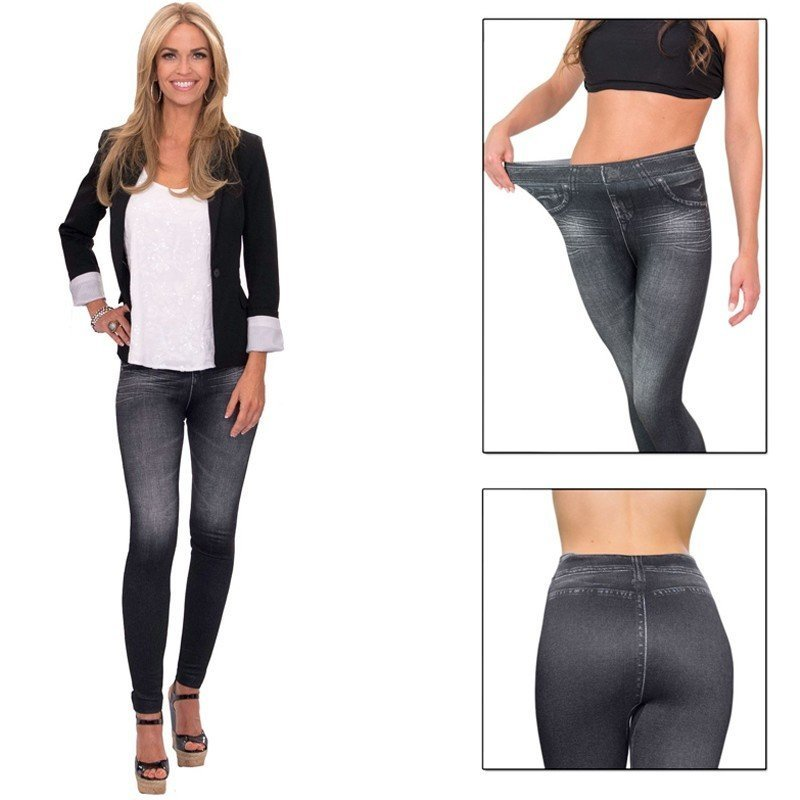 Slim 'n Lift Caresse™ jeans Noir