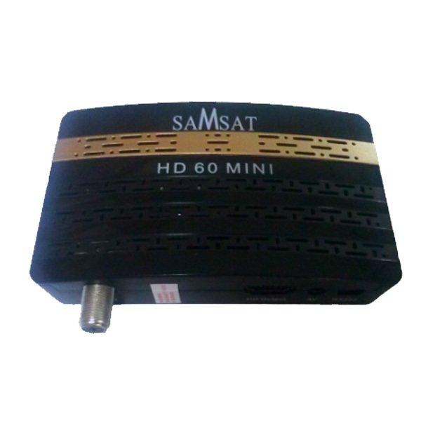 Récepteur satellite & IPTV SAMSAT HD 60 MINI - Avec Clé wifi Avec Abonnement 12 mois IPTV